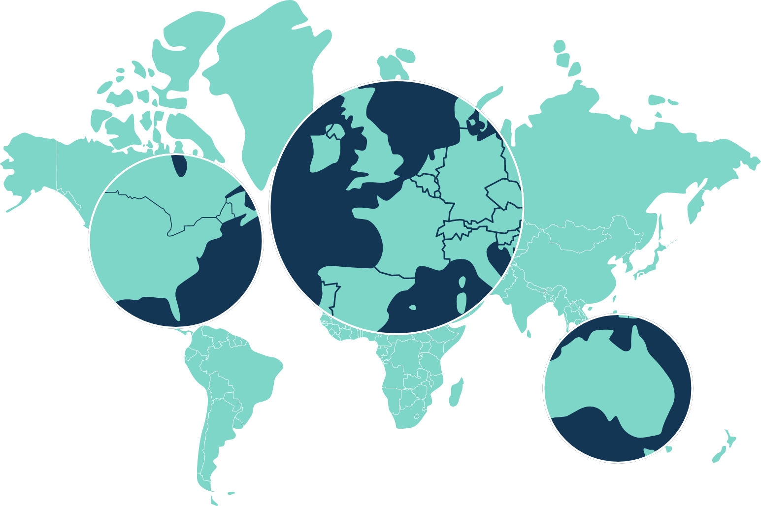 Labelcamp Worldwide Client Map